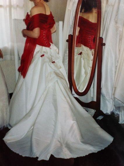 Rever robe de mariee rouge