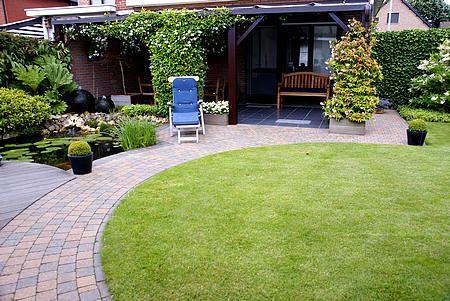 Afbeeldingsresultaat voor kleine tuin aanleggen garten