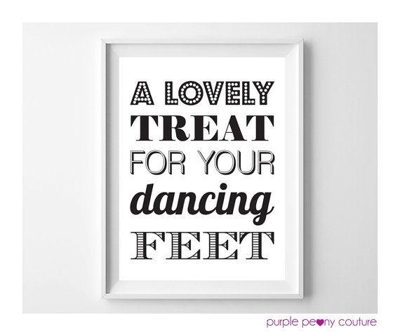 c0f0e747d3e2a Printable Flip Flop Wedding Basket Sign Dancing Shoes INSTANT DOWNLOAD 8x10  PDF on Etsy