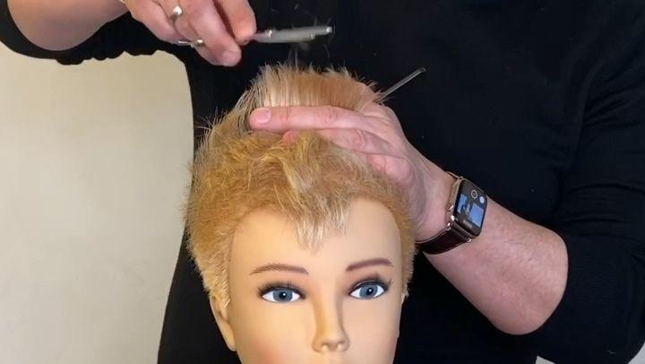 Mohawk Pixie Haircut
