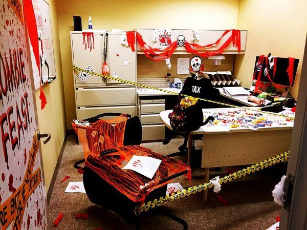 35+ Halloween Decoration For Your Work Place Pinterest - halloween decorations for the office