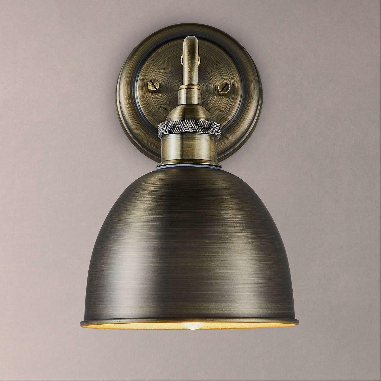 John Lewis & Partners Baldwin Bathroom Wall Light, Antique