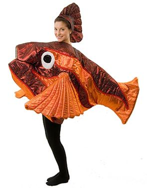 Seussical The Musical Costume Rentals - I wish we needed fish! I'm in love with this costume.. . . its soooo cool!