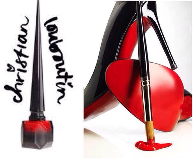 CAUGHT CRIMSON HANDED: learn more about Christian Louboutin's exciting new entrance into the nail polish market at packfashion.com! #nailpolish #ncsu #louboutins