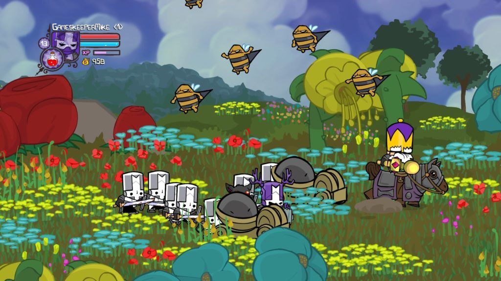 Castle Crashers Remastered Review The Frenetic 4 Player Frenzy Returns Castle Crashers Indie Games Castle