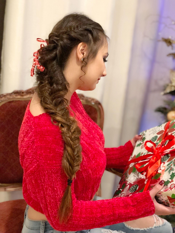 Fancy Fishtail Braid Prom | Fish tail braid, Messy ...