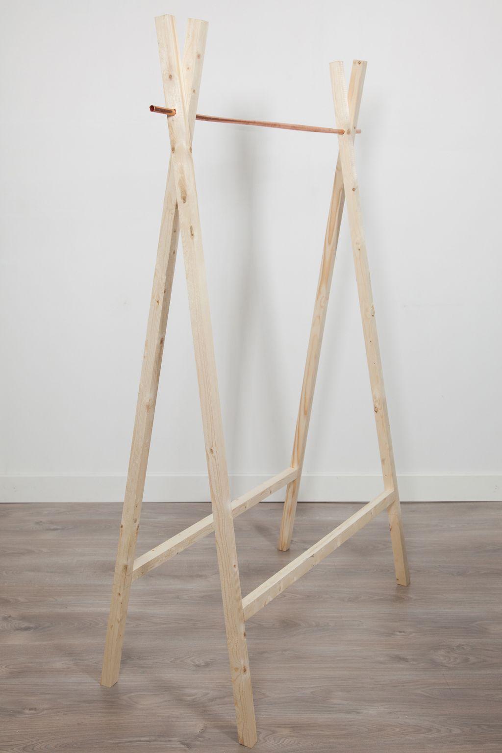 Fabriquer Valet De Chambre fabriquer un portant a vetements copper | portant vetement