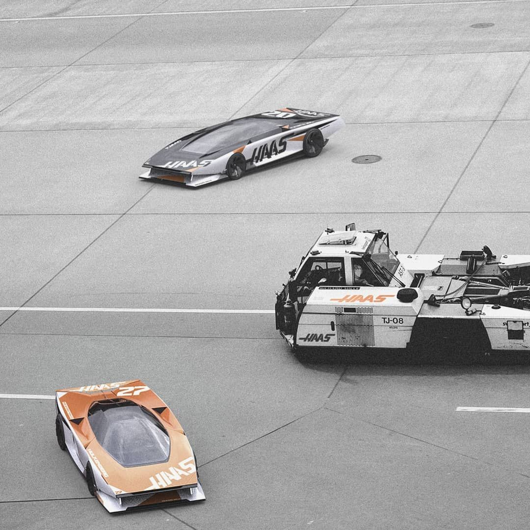 Erik SætreさんはInstagramを利用しています:「Little cars, why not #dome #wedge #70s #haas #airport #planar #shuttle #hulkenberg」