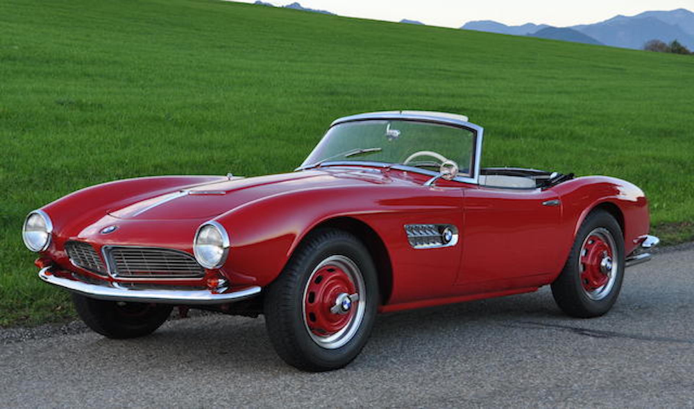 A BMW 507 owned by the man who designed it is headed to