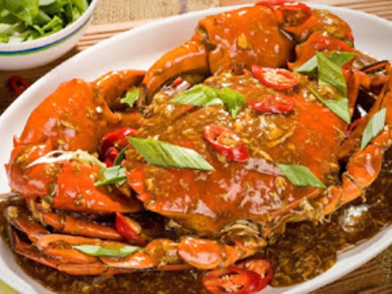 Resep Kepiting Saus Padang Rasa Resto Oleh Resepjuna Blogspot Com Craft Resep Resep Kepiting Resep Resep Ikan