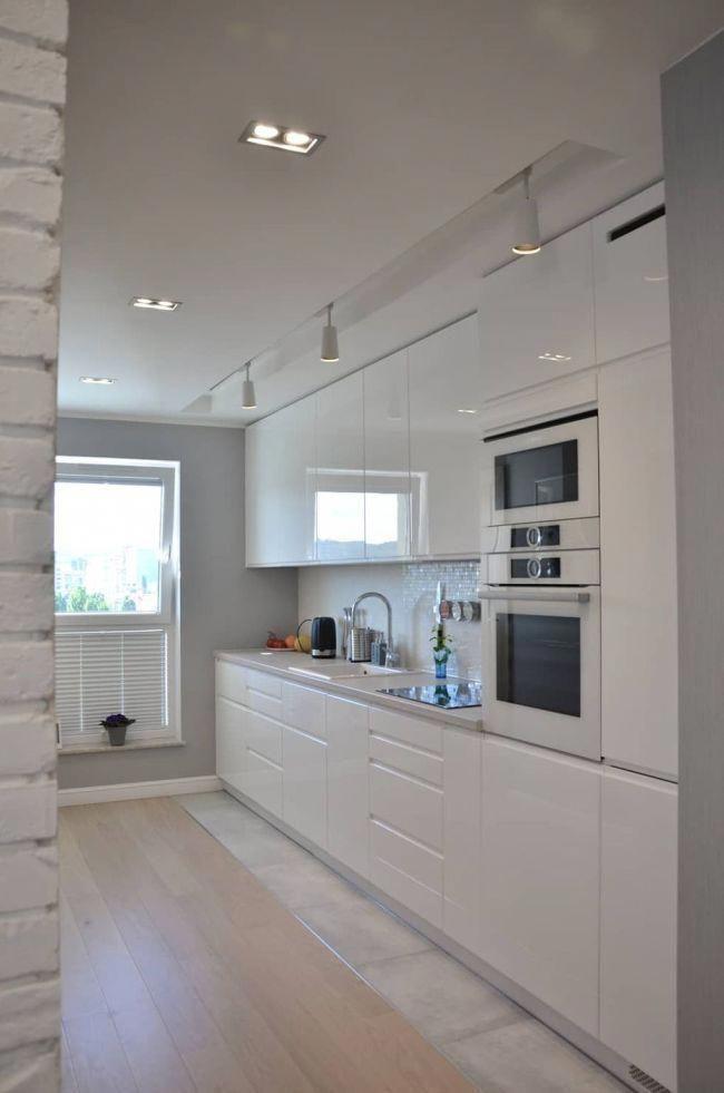 Las 50 cocinas blancas modernas más bonitas