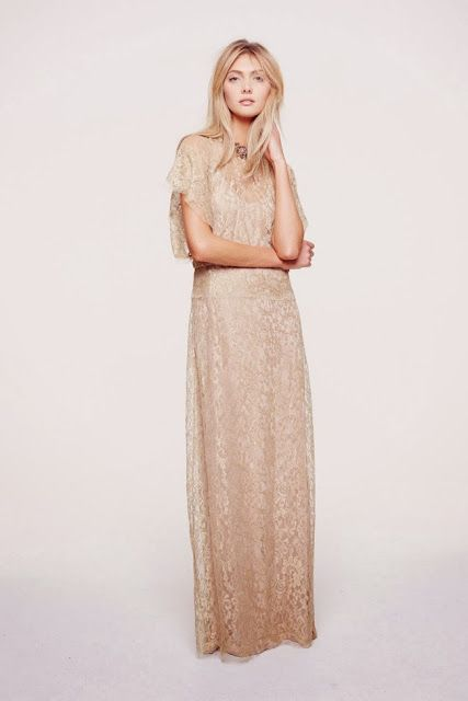 Boho Chic Mother Of The Bride Dress
