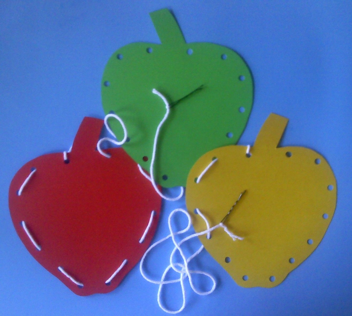 Pre Scissor Skills With Hole Punch Fine Motor With Lacing