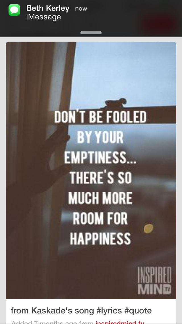 Lyric much more lyrics : Don't be fooled by emptiness. There's so much more room for ...