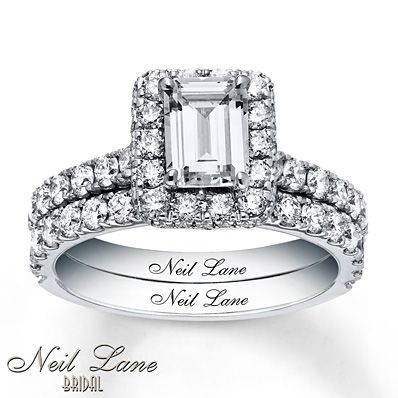 5f0f9c736378dc Neil Lane Bridal Set 2 1/2 ct tw Diamonds 14K White Gold | Baubles ...