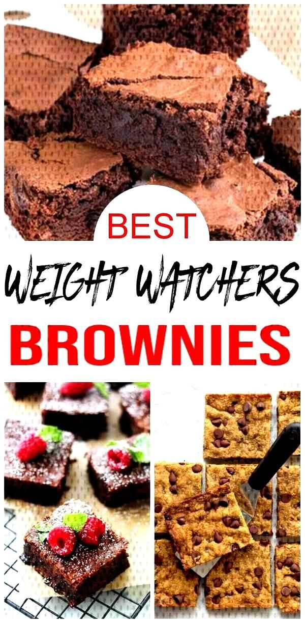 Weight Watchers Brownies – BEST WW Brownie Recipes – Easy Weight Watchers Diet Ideas   - Weight