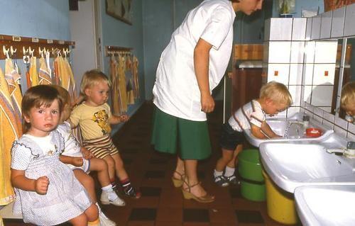 Kindergarten gotha ddr rosagestreift pinterest