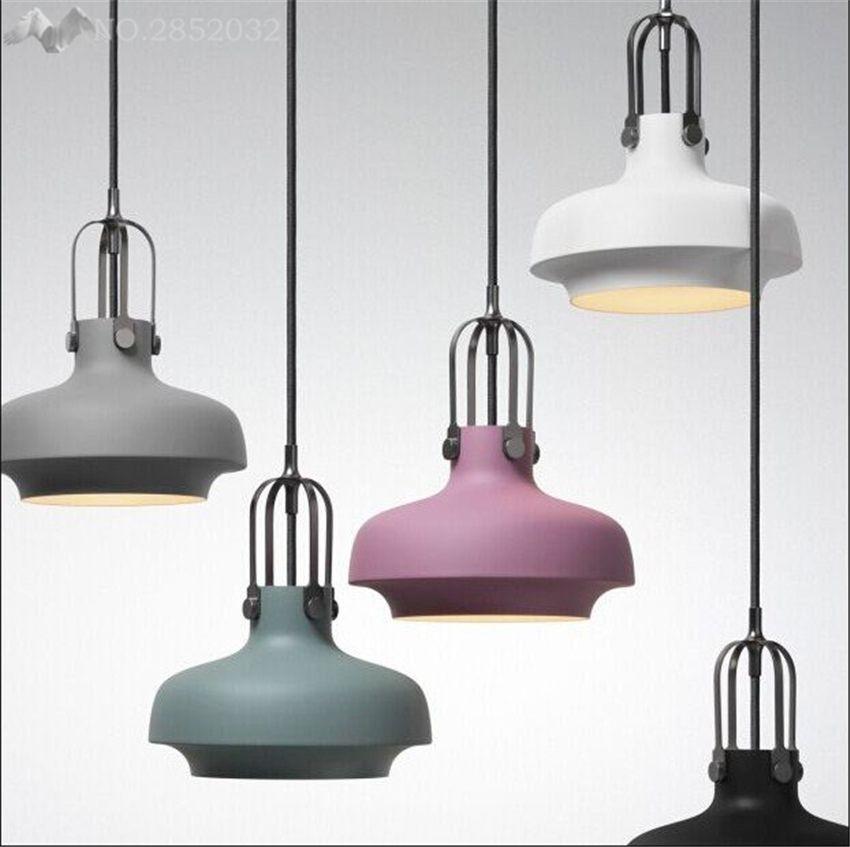Gunstige Lfh Nordic Hause Bunte Pendelleuchte Esszimmer Bett Lampen Dekoration Beleuchtung Led Lamp Pendelleuchten Design Nautische Lampen Wohnzimmer Leuchte