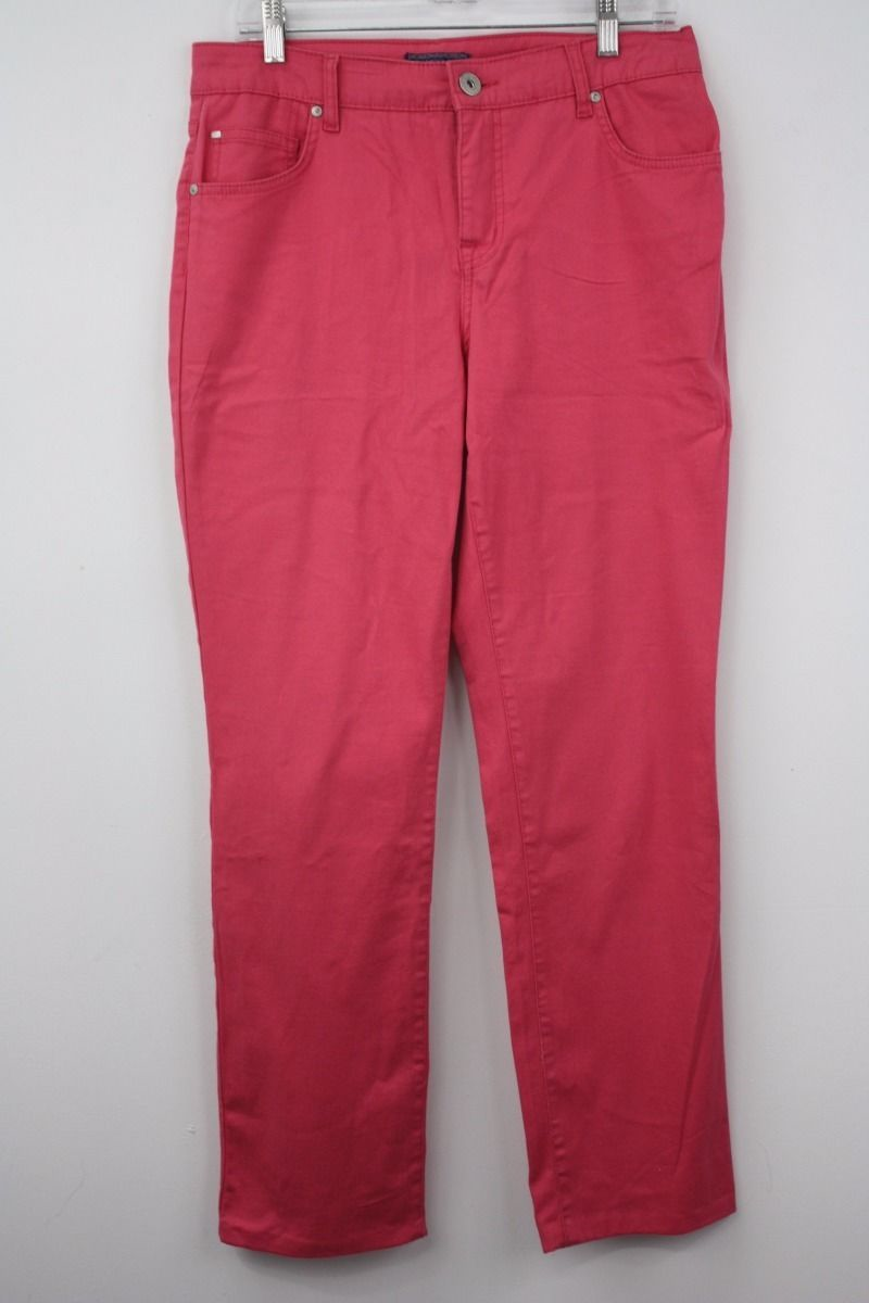 28.04$  Watch here - http://vitwn.justgood.pw/vig/item.php?t=mco9dp3923 - Bandolino Size 6 Women's Pink Stretch Denim Jeans