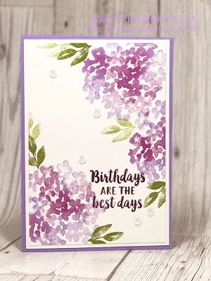 Stampin' Up! Beautiful Friendship Birthday card and gift tag