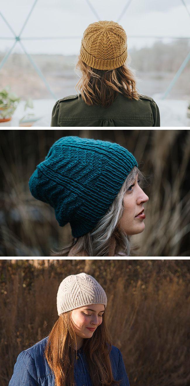 New Favorites Chevron Hats Fringe Association Wool Hat Knit Knitted Hats Lace Knitting Patterns