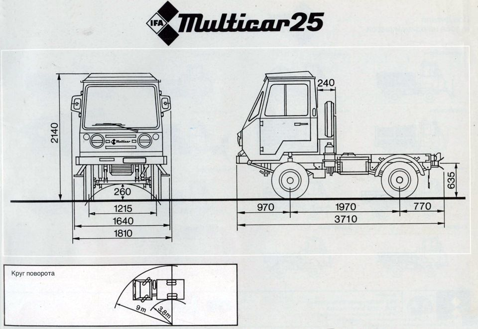 multicar m25 1 ddr fahrzeuge fahrzeuge und ddr. Black Bedroom Furniture Sets. Home Design Ideas