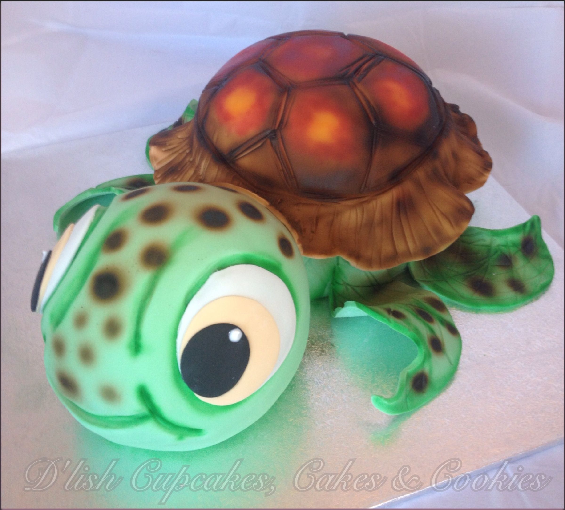 Sea turtle cake Squirt cake Pinteres