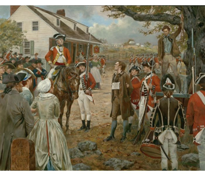 Francois Illas New Tradition: NH - Nathan Hale, September 22, 1776