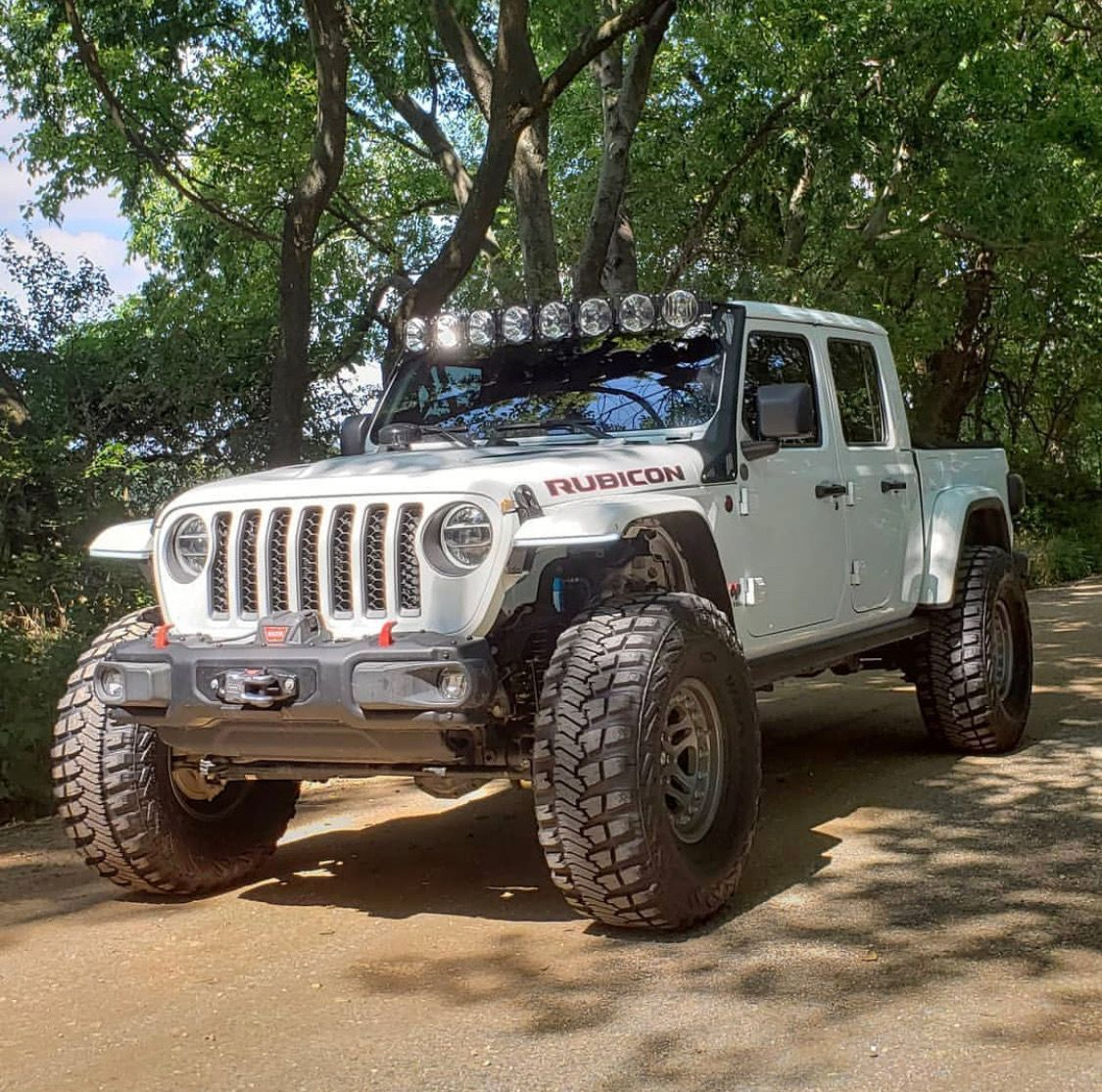 Lifted 2020 Jeep Gladiator Rubicon In 2020 Jeep Gladiator Badass Jeep Jeep