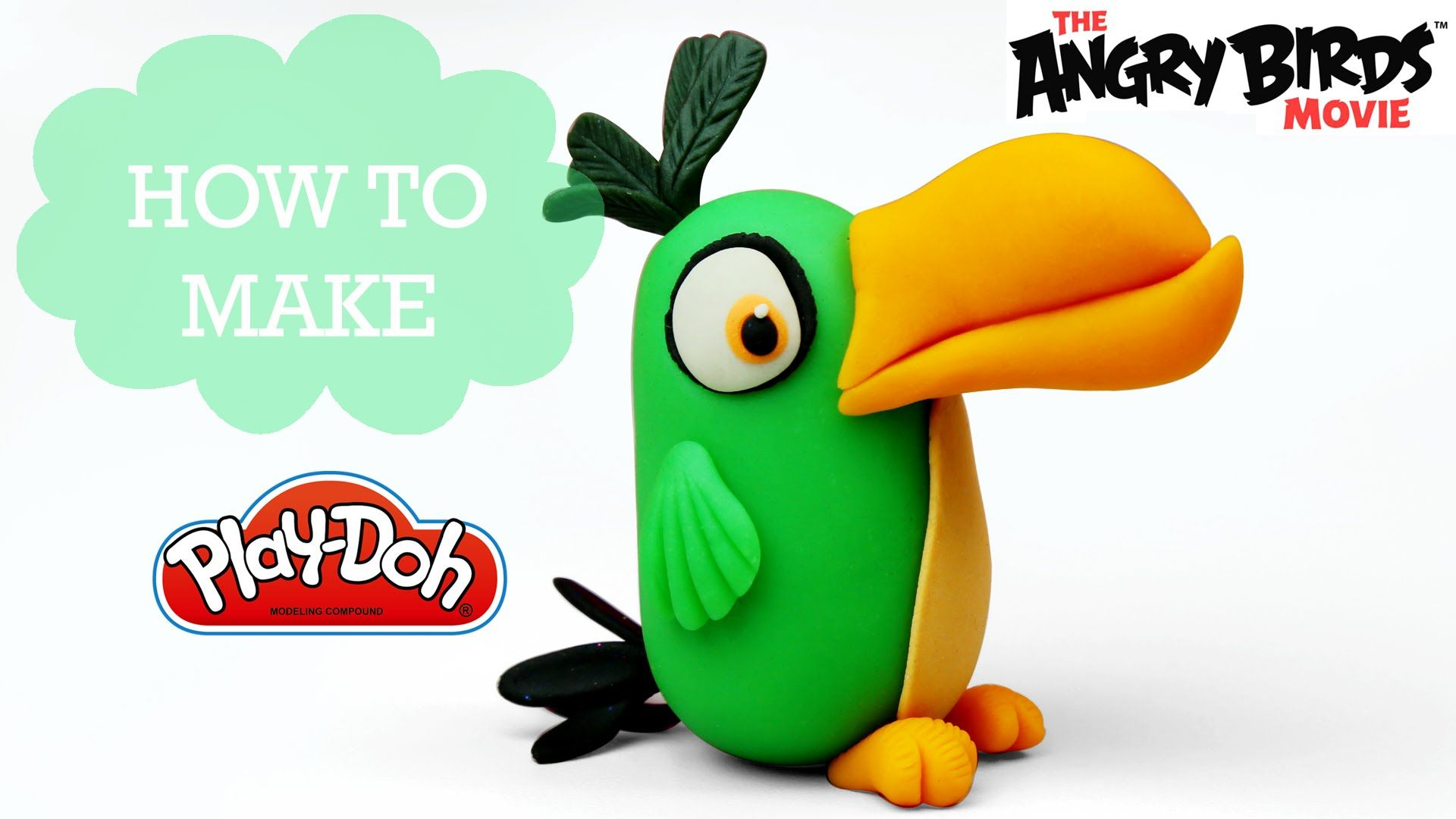 Personagem Angry Birds: Play Doh Making Hal The Boomerang