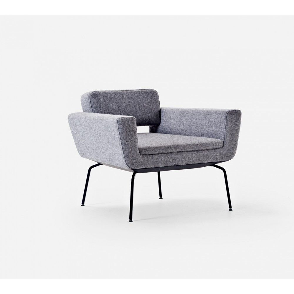 Serie 50 Lounge Chair Modern Living Room Design At Cassoni  # Muebles Sedutti