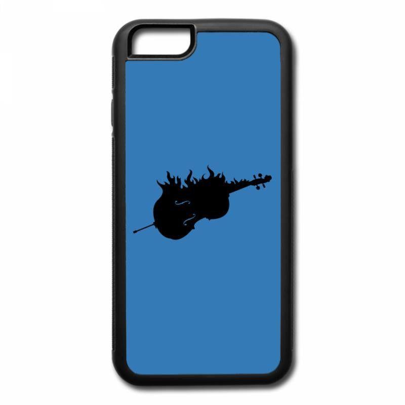 flaming cello iPhone 7 Plus Case