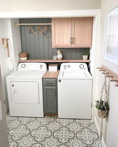 17 Simple Ideas for a Small Laundry Room