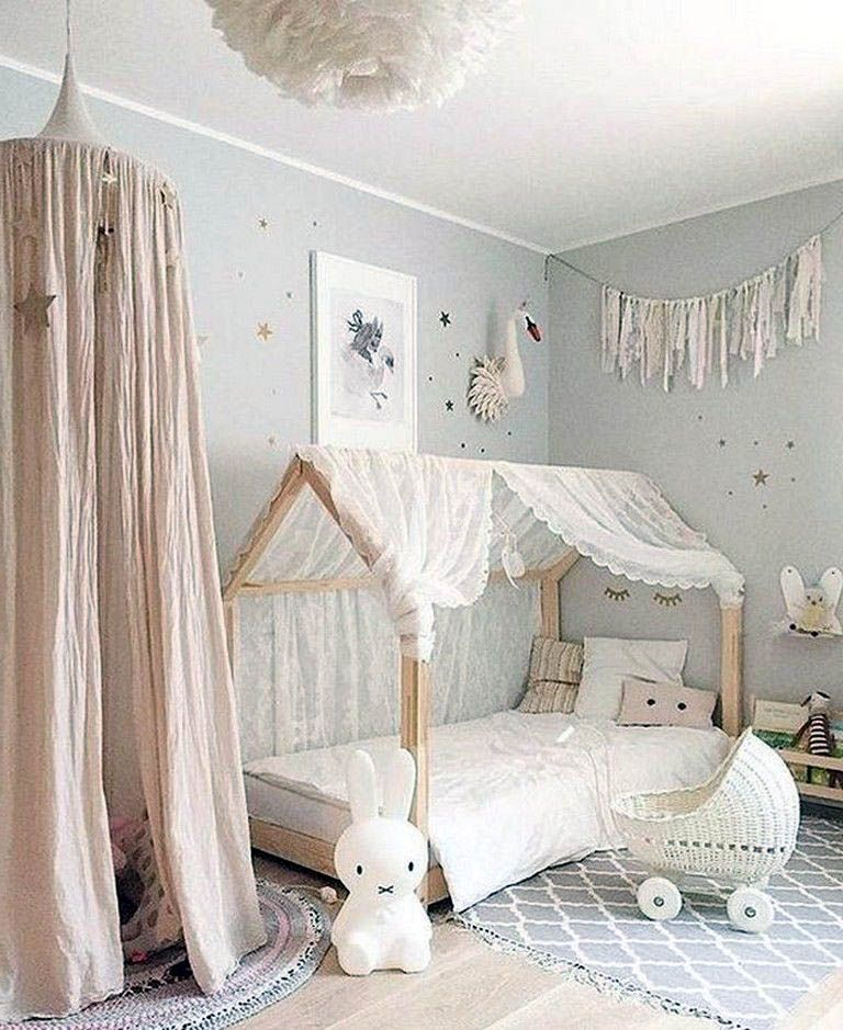 Stunning Ideas For A Bed Canopy With Fairy Lights Only In