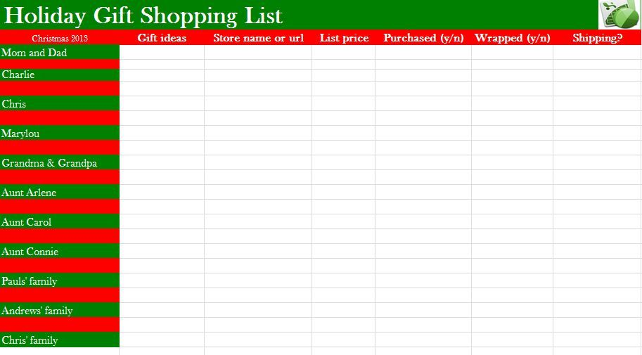 christmas wish list template microsoft word  microsoft word christmas wish list template - Google Search ...