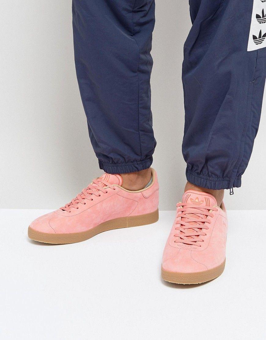ac525e5730e8fa ADIDAS ORIGINALS GAZELLE DECON SNEAKERS IN PINK CG3706 - PINK.   adidasoriginals  shoes