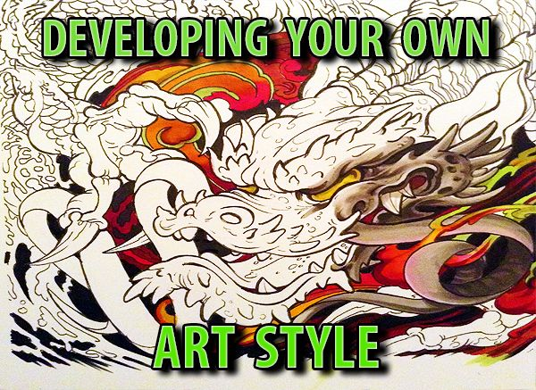 4 Steps To Your Own Signature Art Style Comic Book Art Style Fashion Art Art