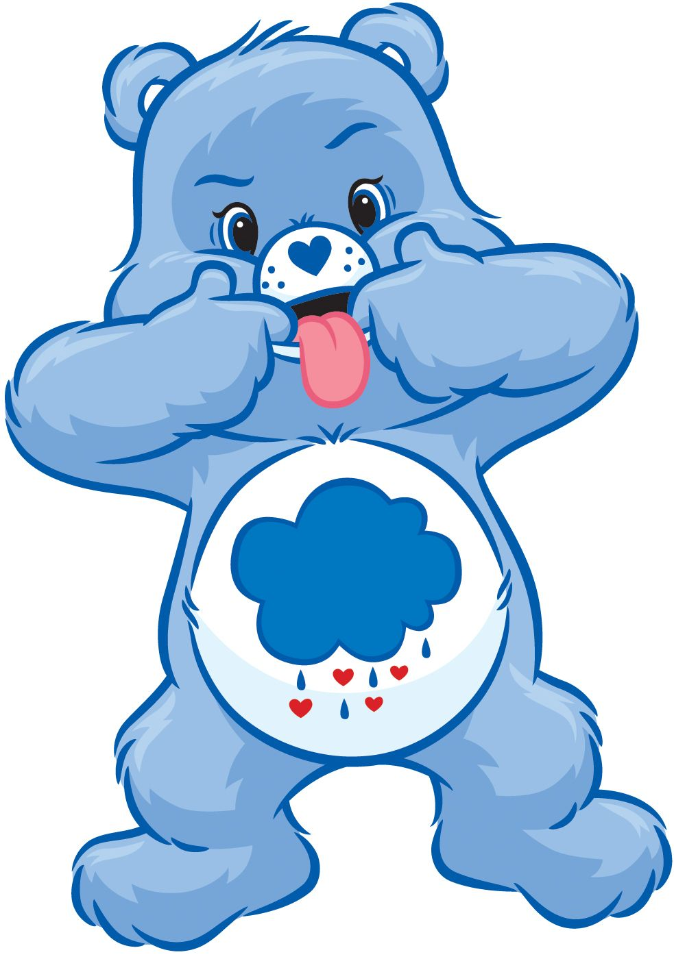 grumpy care bears coloring pages - photo#35