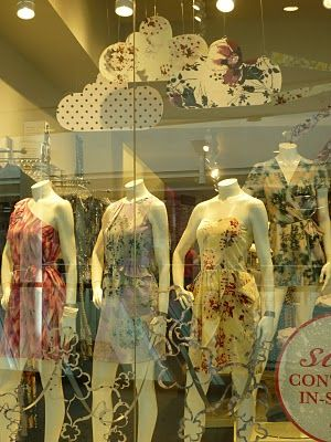 A love of Visual Merchandising pattern clouds