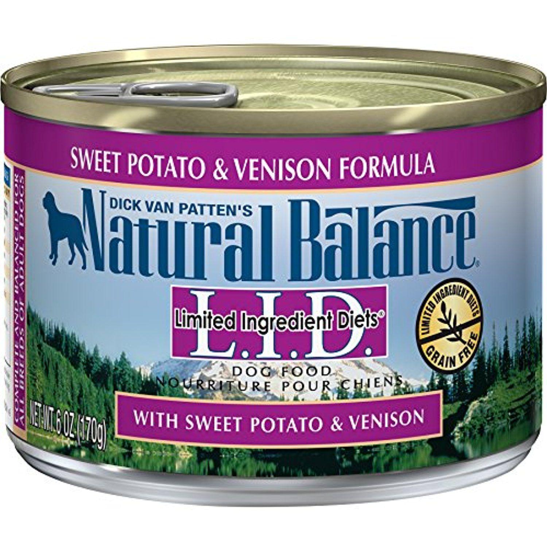 Natural balance diets canned sweet potato venison