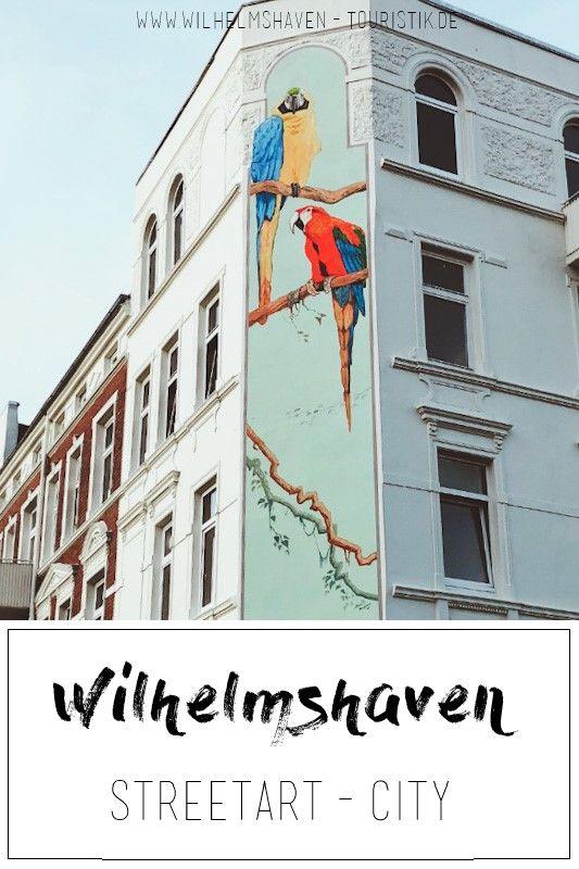 An vielen Ecken in unserer Hafenstadt Wilhelmshaven lässt