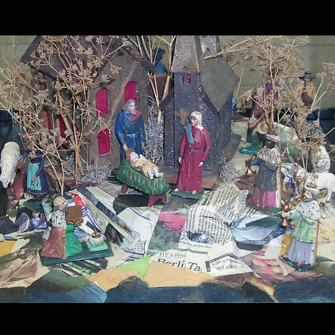 """Braving The Times"" From The Marian Library Creche"