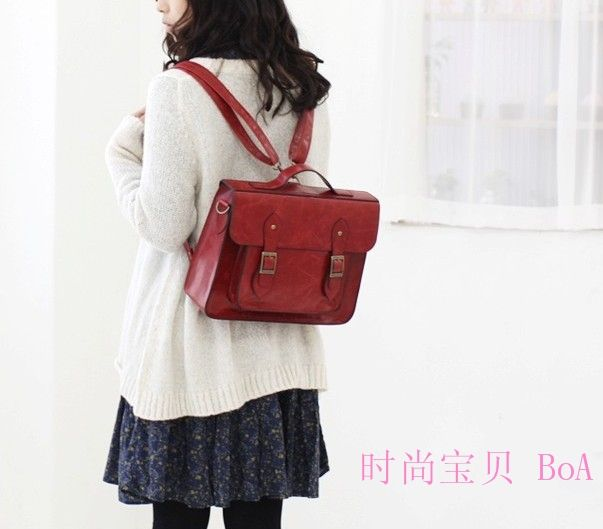 STYLISH BAG    Messenger Bags    British fashion retro package Mary women  brieftcase backpack ac9c9e3039a87