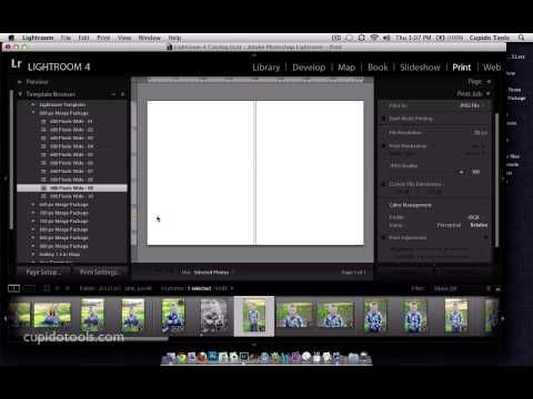 Lightroom Print Storyboard Templates & Photoshop Actions | Photo ...