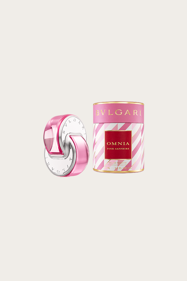 Omnia Pink Sapphire Is An Effervescent And Whimsical Scent Exuding The Same Sunny Vibe As Its Namesake Color Opening Pink Sapphire Bvlgari Fragrance Bvlgari