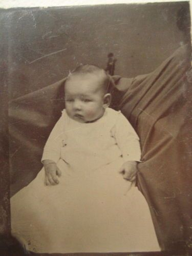 1880's Hidden Mom Tintype Mom Under Blanket Shawl Surrounding Baby | eBay