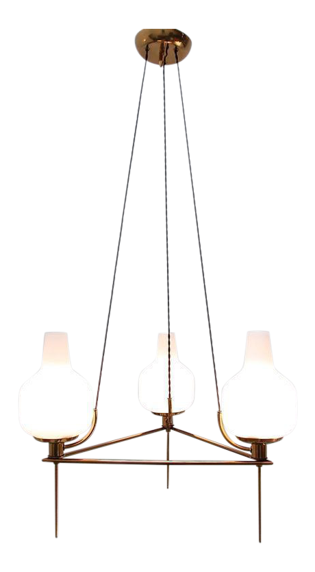 Italian Chandelier From The 1950s On Decaso Com Mcm Light