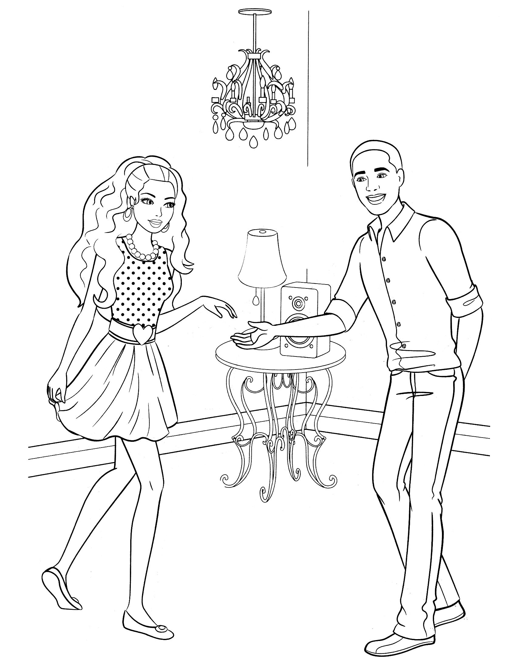 Barbie Life In The Dreamhouse Skipper Coloring Pages 3663 | ENEWS