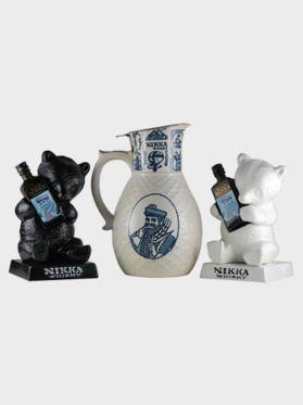 Nikka Bear Mini Bottle Dekanta Set