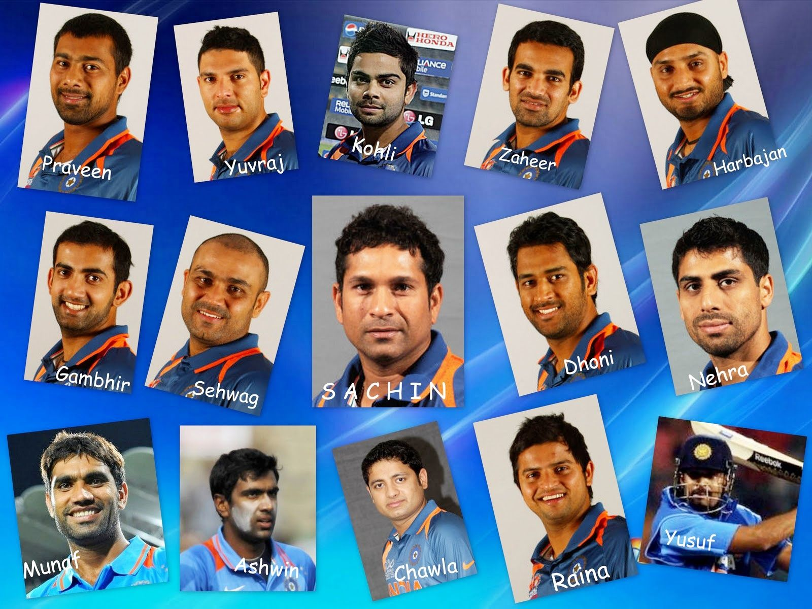 2011 Team India World Cup Wallpapers Hd Wallpapers Cricket Teams Rugby World Cup Team Wallpaper